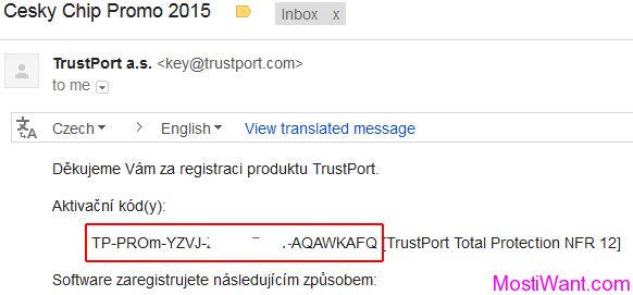 TrustPort Total Protection 2015 Serial Key