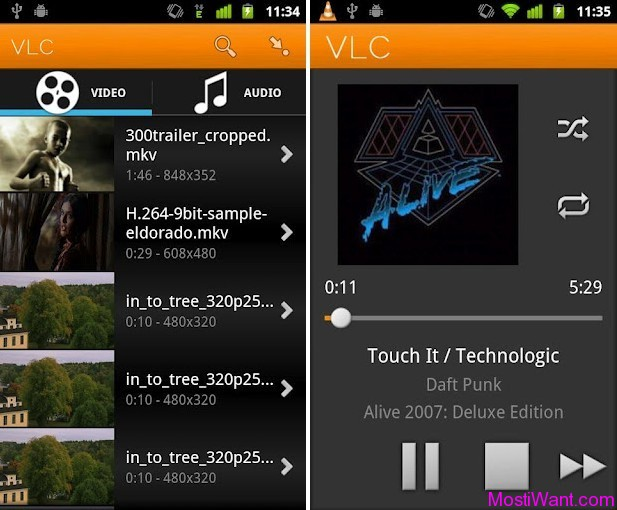 VLC Media Player for Android Beta