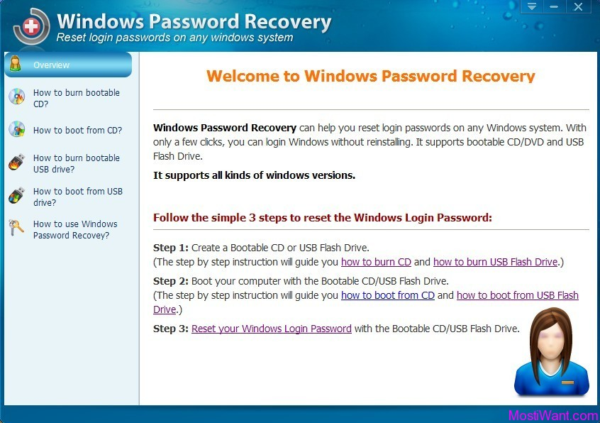 iAidsoft Windows Password Recovery