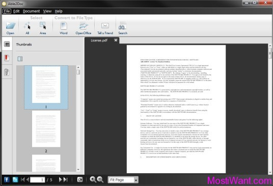 Able2Doc PDF to Word Converter
