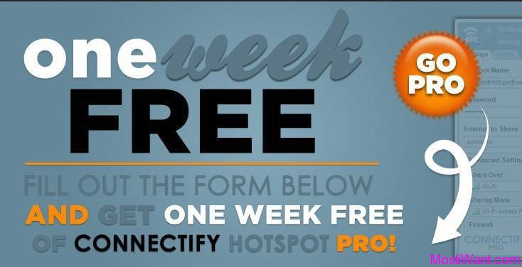 Connectify Hotspot Pro Free ONE WEEK Serial Number