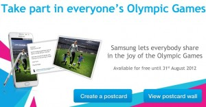 Free Personalized Postcards Printed and Mailed from Samsung