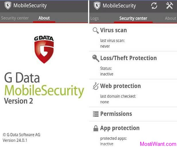 G Data Mobile Security V2