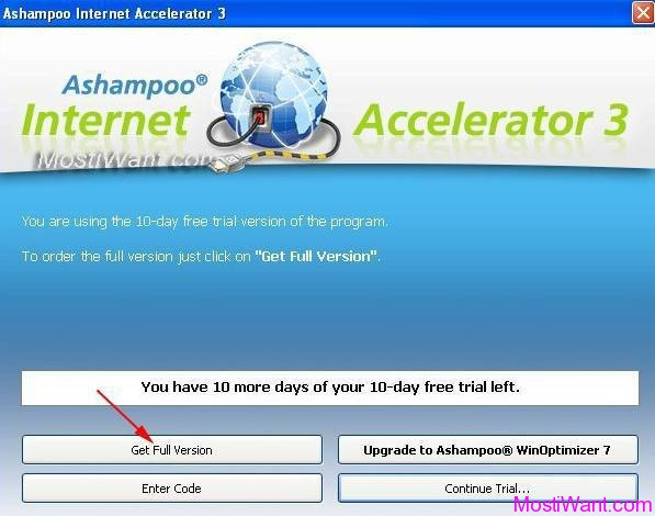 Ashampoo Internet Accelerator 3 Get Free Full Version