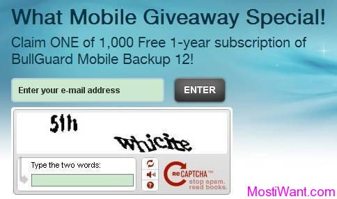 BullGuard Mobile Backup 12 Free License Key Giveaway