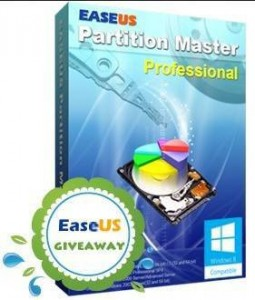 EASEUS Partition Master Professional Edition with Linux Bootable Disk For Free Giveaway