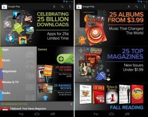 Google Play 25 Billion Downloads Deal: Selected Premium Android apps for 25 cents