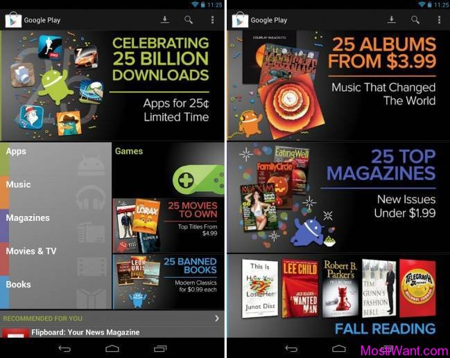 Google Play 25 Billion Downloads Deal: Top Premium Android Apps for 25 Cents
