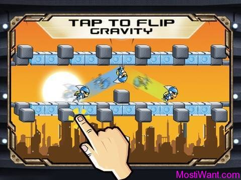 Gravity Guy iOS Game
