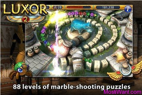 Luxor 2 iOS Game