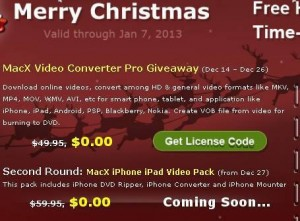 MacX Video Converter Pro for Mac Giveaway