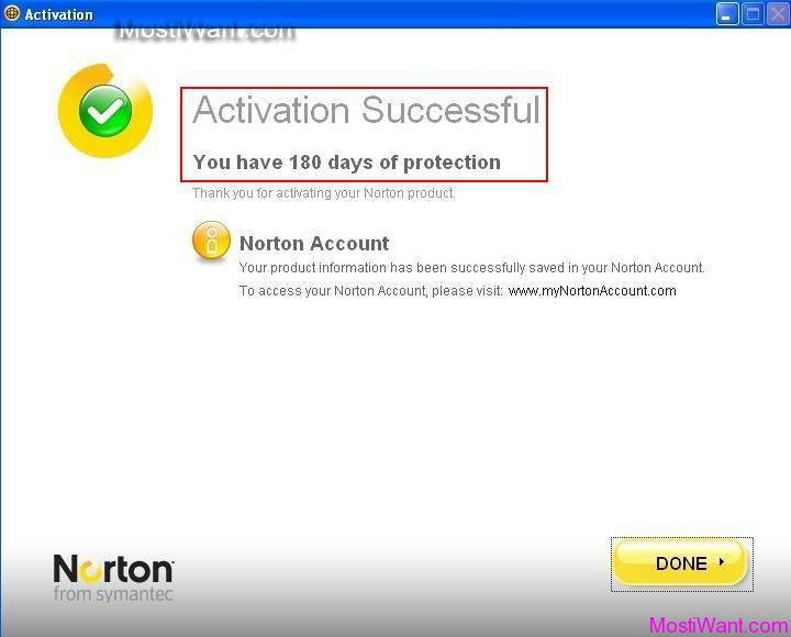 Norton Internet Security 2012 Free 180 days trial Activation