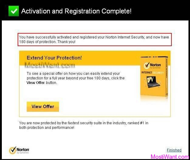 Norton Internet Security 2013 Free 180 Days Trial OEM