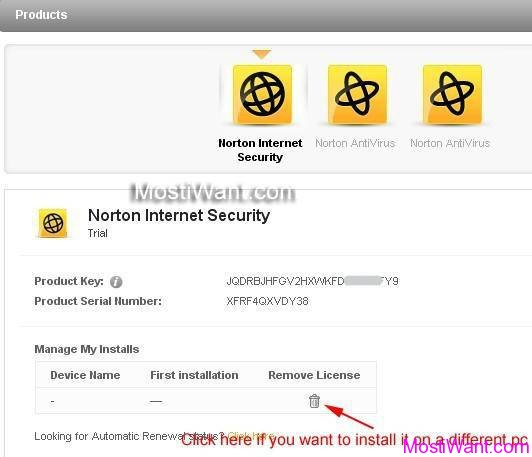 Norton Internet Security 2013 Free Product Key