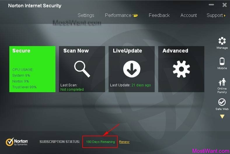 Norton security download