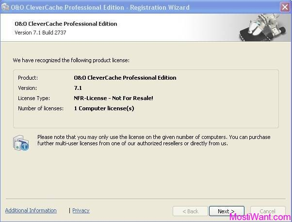 O & O Clever Cache 7 Professional Edition Free Full Version