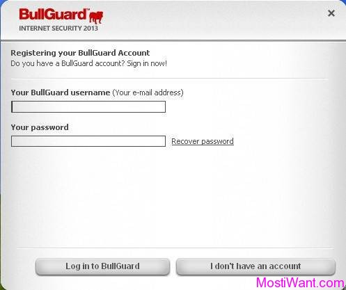 Sign In BullGuard Account