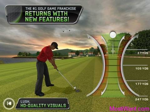 Tiger Woods PGA TOUR 12 for iPhone and iPad