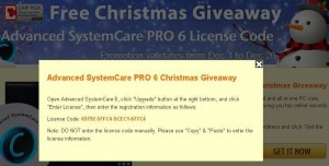 Advanced SystemCare PRO 6 Christmas Giveaway