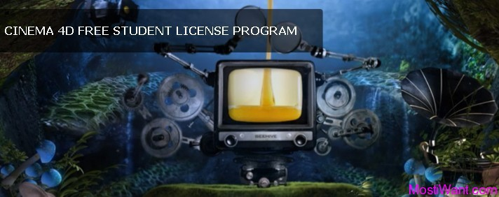 MAXON CINEMA 4D Free Student License Program