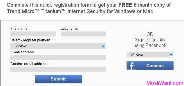 Trend Micro Titanium Internet Security for Mac Free Giveaway