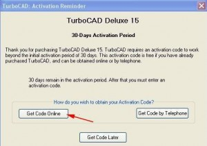 TurboCAD Deluxe 15 Activation
