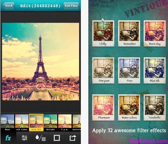 Vintique Photography App for iPhone, iPod touch, and iPad