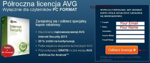 AVG Internet Security 2013 Free Giveaway