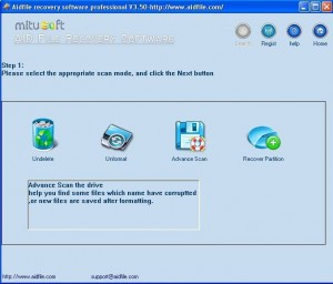 Aidfile Recovery Professional