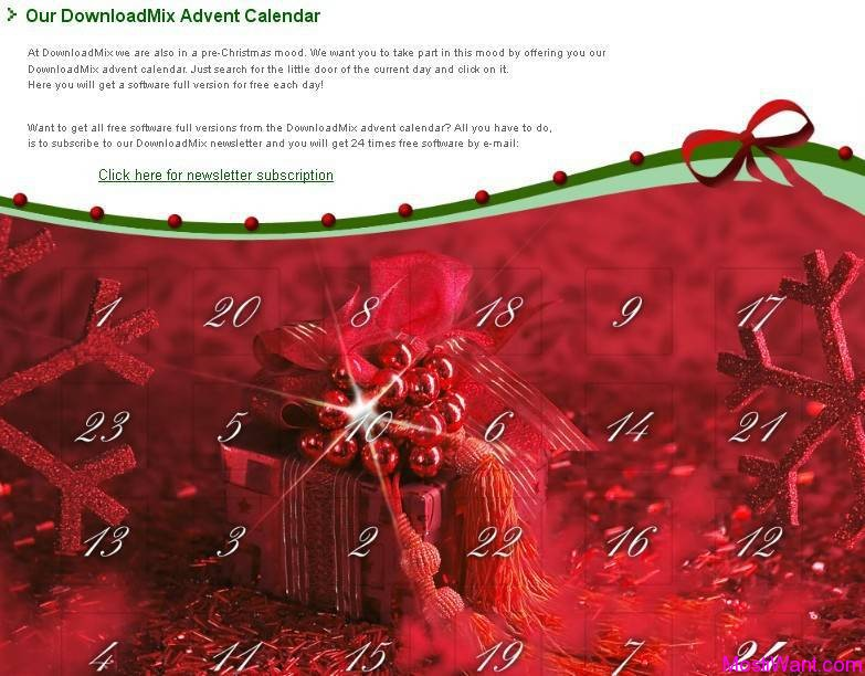 DownloadMix Advent Calendar 2012