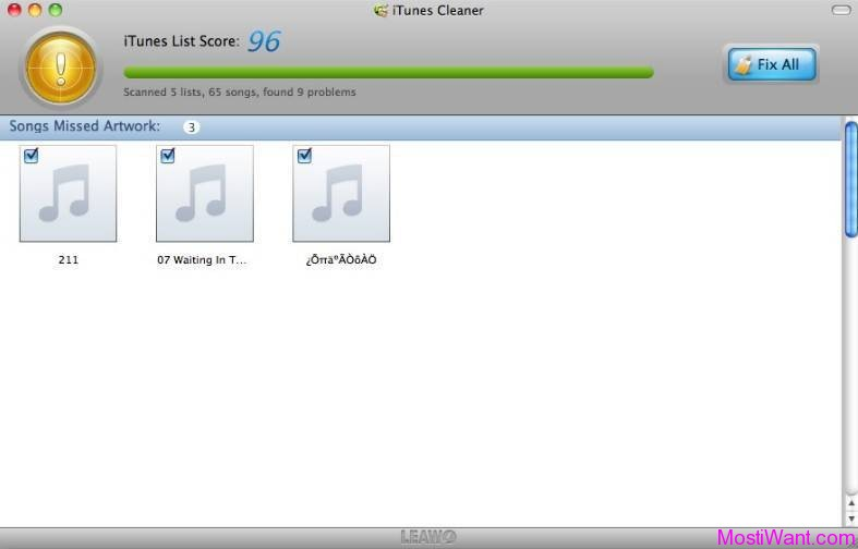 Leawo Tunes Cleaner for Mac