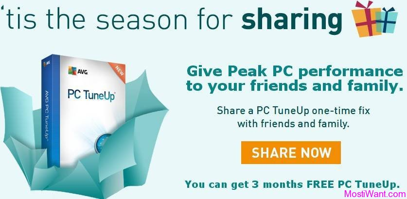 AVG Refer a Friend campaign