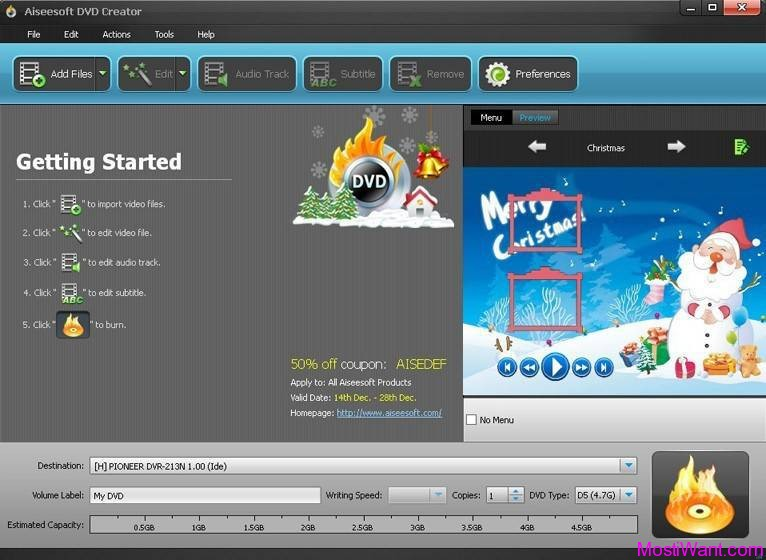 Top free dvd authoring software | The Top 10 Free DVD Burning