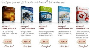 Ashampoo Christmas Giveaway: Free Download 5 Full Version Software