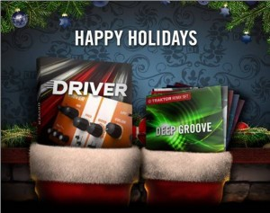 Native Instruments Holiday Giveaway: Free DRIVER Effect and Traktor Remix Sets