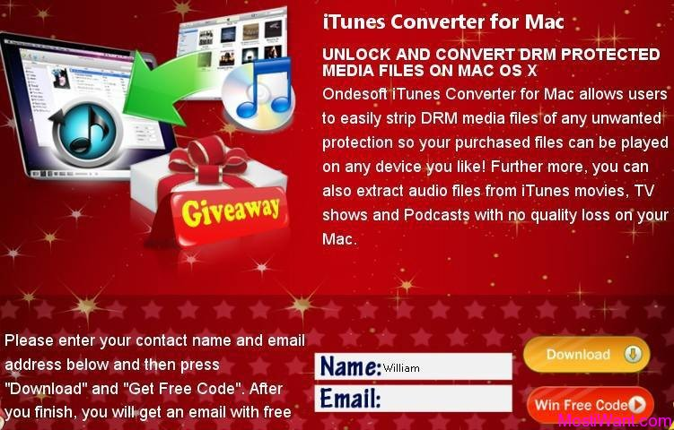 Ondesoft iTunes Converter For Mac Free Giveaway