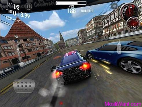 Need For Speed Shift 2 Unleashed for the iPad