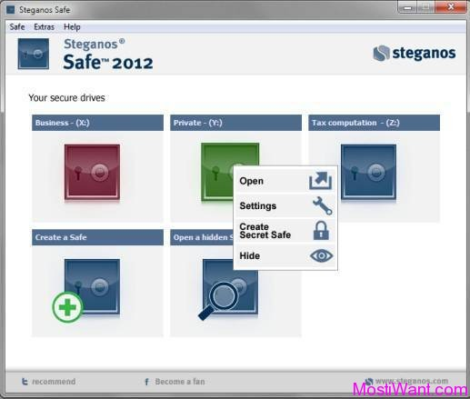 Steganos Safe 2012 (version 13)
