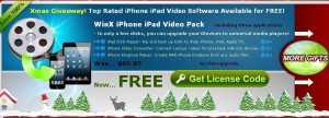 WinX iPhone iPad Video Pack Giveaway