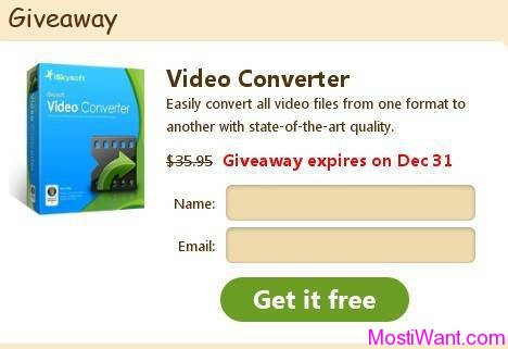 iSkysoft Video Converter Free Giveaway
