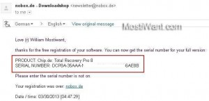 FarStone Total Recovery Pro Serial Number