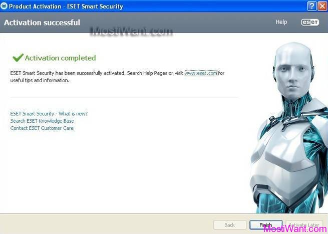 ESET Smart Security 8 Free 90 days Username and Password