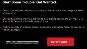 FREE Need For Speed Most Wanted iOS Game