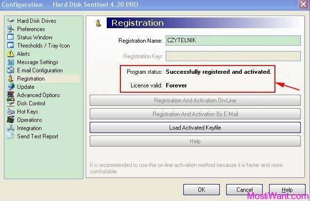 hard disk sentinel registration key 5.30