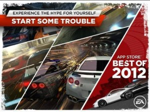 Need For Speed Most Wanted iOS Game