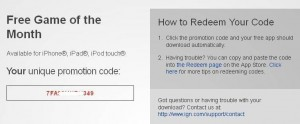 Need For Speed Most Wanted iOS Game Promotion Code