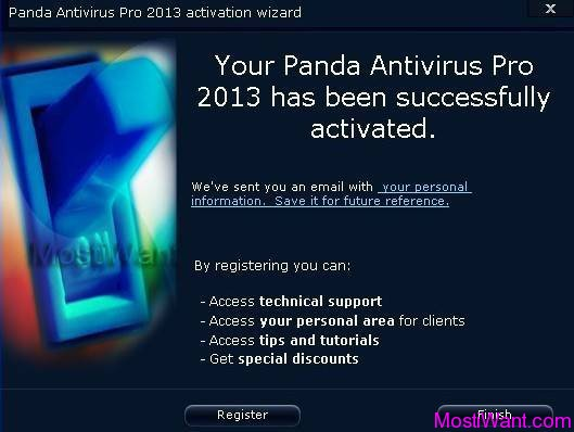 Panda Antivirus Pro 2013 Activation 3
