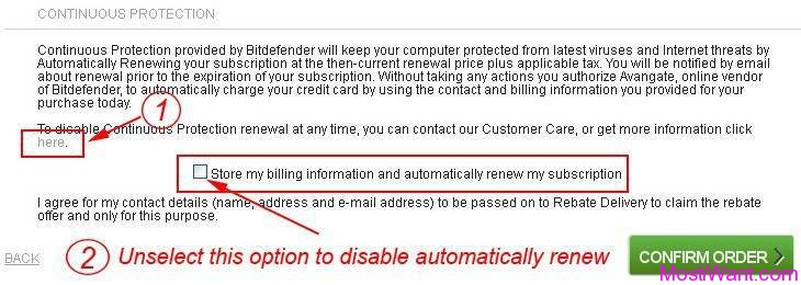 Bitdefender Internet Security 2013 Auto-renew