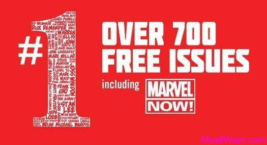 Marvel Free First Issue Digital Comics Collection