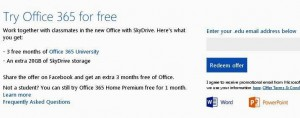 Office 365 University Free 6 Months Subscription